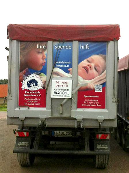 Spendenaufruf für das Kinderhospiz Löwenherz